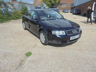 Audi A4 Automatic 4 Door Saloon Spares Or Repairs