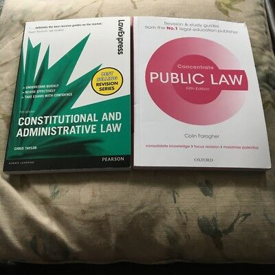 Consitutuinal And Administrative Law Revision Guide
