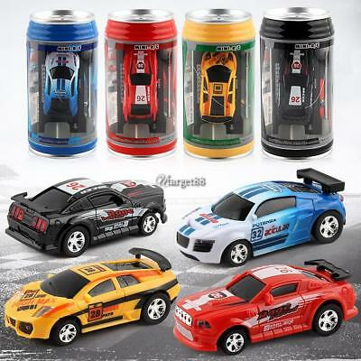 Cans Mini Speed RC Radio Remote Control Micro Racing Car Toys Kids Gift UTAR