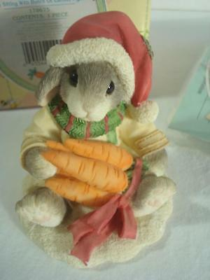 1996~Enesco~My Blushing Bunnies~Always Count Your Blessings~#178675~w/Box