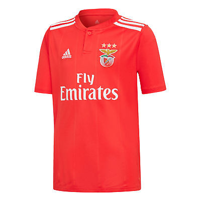 Benfica Football Home Jersey Shirt Tee Top 2018 19 Kids adidas