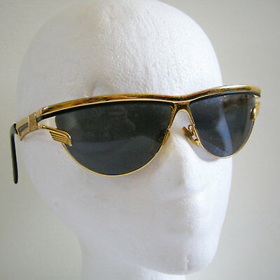 CHARME Gold Plated Vintage Sunglasses MOD.7510 Col.103 made in Italy