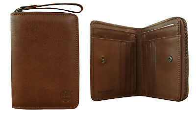 Timberland Brown Small Womens Leather Wallet Purse TB0A1AU4 140 S