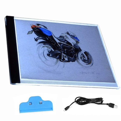 A4 Super Thin LED Copy Board Light Box, Art Craft Tracing Table for Tattoo, Sket