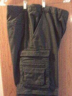 Official Boy Scouts Men's Uniform Pants Size, Relaxed 34 Waist, New/Unhemmed