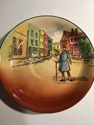 Royal Doulton Dickens Ware - 1 Saucer   Mr Micawber