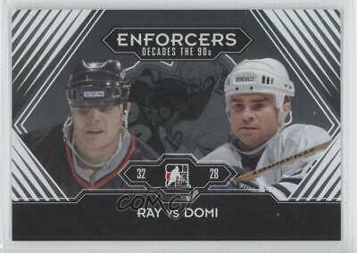 2013-14 ITG Decades 1990s Rob Ray Tie Domi #189