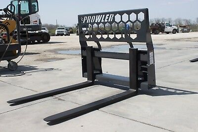 "NEW Prowler Heavy Duty 48"" skid steer Pallet Forks - 5500lbs. Made in USA!"