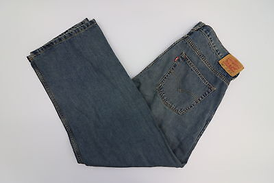 Levi 550 Relaxed Fit Medium Wash Jeans Size 18h 36 x 29
