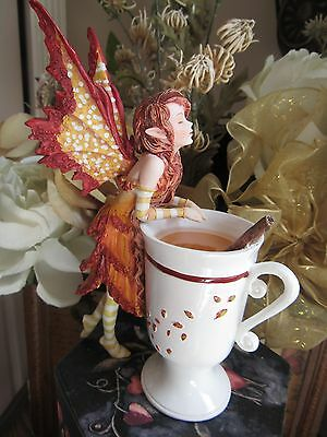 Amy Brown CIDER CUP FAERY Fairy Figurine by Pacific Giftware