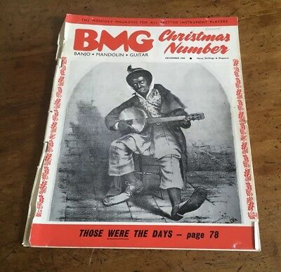 BMG Magazine December 1969 Banjo Mandolin Guitar