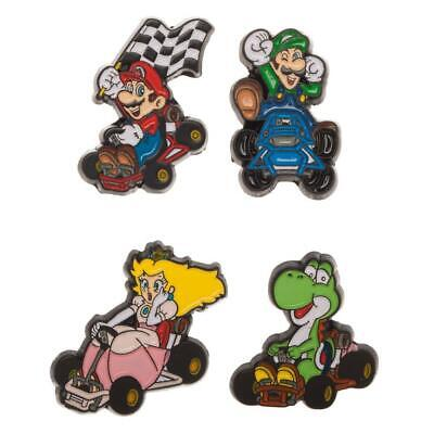Mario Kart Character Collectible Pins