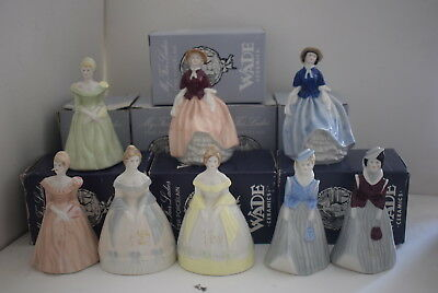 WADE  Set 2 of My Fair Ladies  8 Figurines Boxed