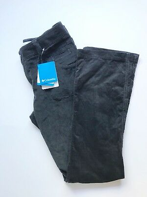 Columbia Women's corduroy Gray Pants - size 6 New with tags.