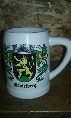 Rare cs16 budweiser german cities side handle stein