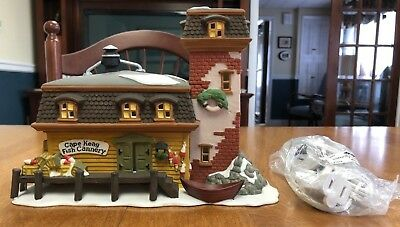Department 56 Cape Keag Fish Cannery 1994 New England Village Series