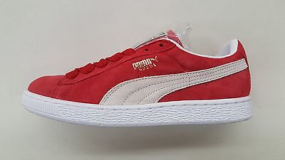 the best attitude d1041 7ef2d Puma Suede Classic Eco Team Legal Red White Gold Mens Size Sneakers 352634 -05