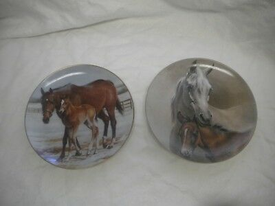 Horses of Fred Stone Collection - Second & Third Edition Limited Collector Plate
