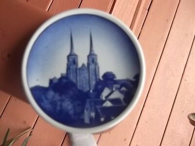 "Vintage Royal Copenhagen Denmark 3 1/4"" Mini Collectors Plate ."