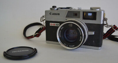 vintage Canon Canonette QL17 G-III Camera 40mm lens