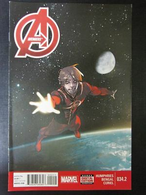 Avengers #34.2 - Marvel Comic # 3A15