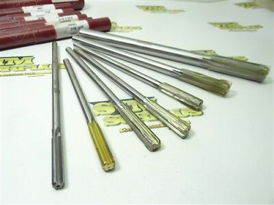 """Nice! 7Pc Lexington Carbide Tipped Chucking Reamers .3160"""" To .7500"""""""