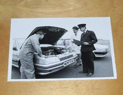 Austin Montego Turbo Diesel Fitted With Perkins Prima Diesel Press Photograph