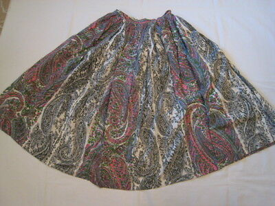 Vintage 1950's-60's Nelly de Grab Sequined Circle Skirt
