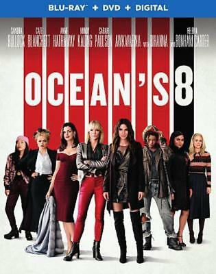 Ocean's 8 New Blu-Ray/dvd