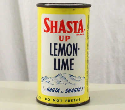 Shasta Up Lemon-Lime Pre-Zip Flat Top Soda Can San Francisco, California Seattle