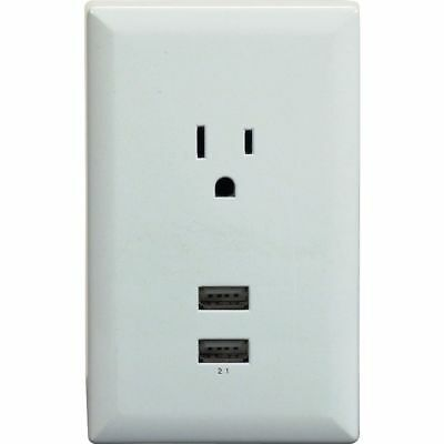 RCA USB A (Input) USB Charger WP2UWF Mobile Device Chargers Wall Apple Android