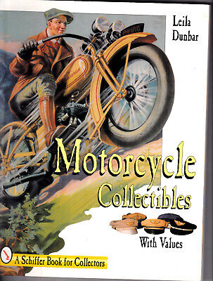 MOTORCYCLE COLLECTIBLES Identification & Price Guide BOOK Leila Dunbar