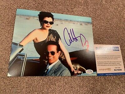ANNETTE BENING SIGNED 8x10 PHOTO PROOF COA AUTOGRAPHED BUGSY 2