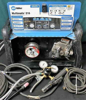 Miller Multimatic 215 Multiprocess Welder