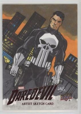 2018 Upper Deck Daredevil Seasons 1 & 2 Sketch Cards #SKT Arturo Romero Auto 5i7