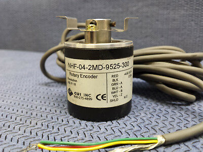 New CUI NHF-04-2MD-9525-300 Rotary Encoder with Downloadable Datasheet