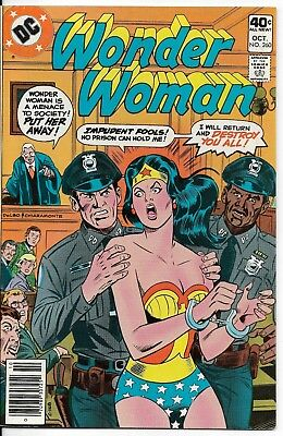 1979 Wonder Woman Issue #260 Dc Comic Book Bag/board Vintage Rare