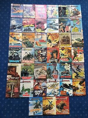 Job lot of 39 Commando comics (lot 3). 1974-83
