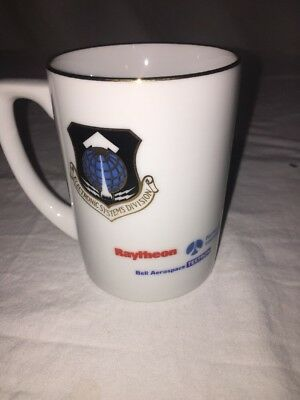 Bell Aerospace Raytheon Milstar Airforce Coffee Cup Mug