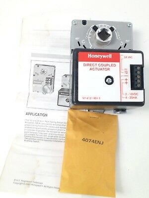 Honeywell ML7174 A2001 Direct Coupled Actuator HVAC Air Conditioning w/ Declutch