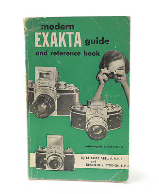 Vintage Modern Exakta Guide and Reference Book - 1954 - Exakta 1 & 2