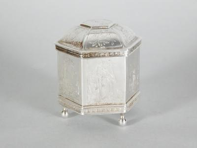 1985 MMA METROPOLITAN MUSEUM of ART Sterling Silver Marriage Wedding Box
