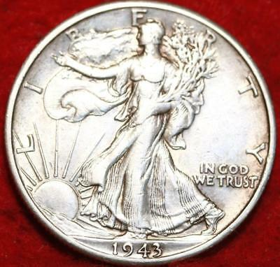 1943-D Denver Mint Silver Walking Liberty Half