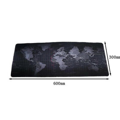 1X Mauspad XXL GAMING Anti Rutsch Mousepad 600x300mm Groß Maus Pad Mat Large Y