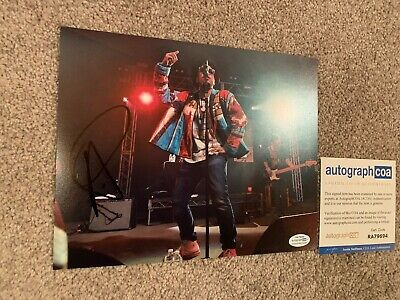 Silento Ricky Hawk Signed Autographed 8x10 Photograph exact Proof Coa Free