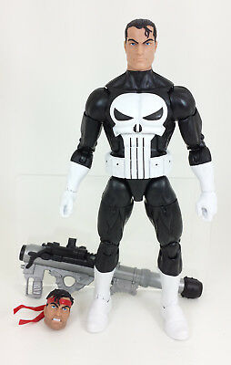 Marvel Legends Hasbro 2017 Vintage Retro The Punisher 6 Inch Figure Loose