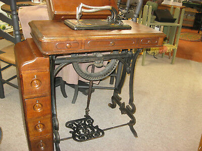 Grover & Baker 1860's tredle sewing machine