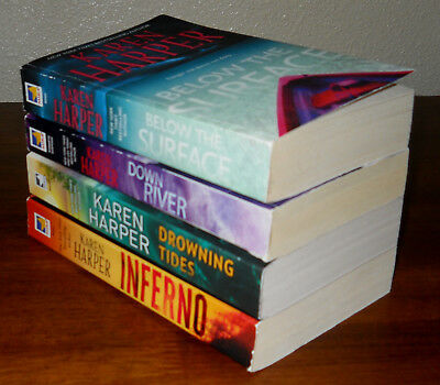 Karen Harper - lot of 4 pb books