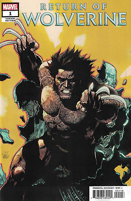 Return of Wolverine #1 1:25 Yu Variant!