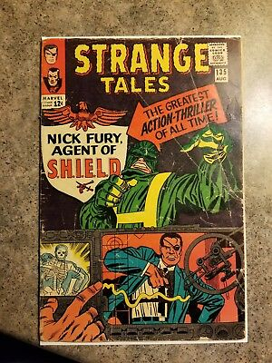 Strange Tales #135 First Appearance Of Nick Fury Key Marvel Silver No Reserve